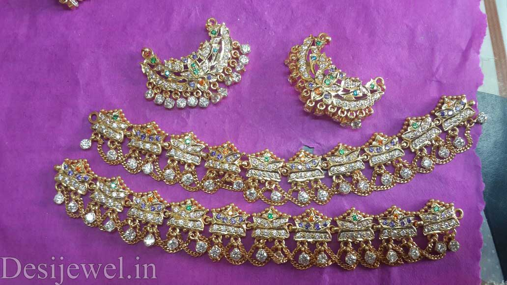 Marwadi Rajasthani Desi gold Rakhdi-Set And Weight is 22-25 gm