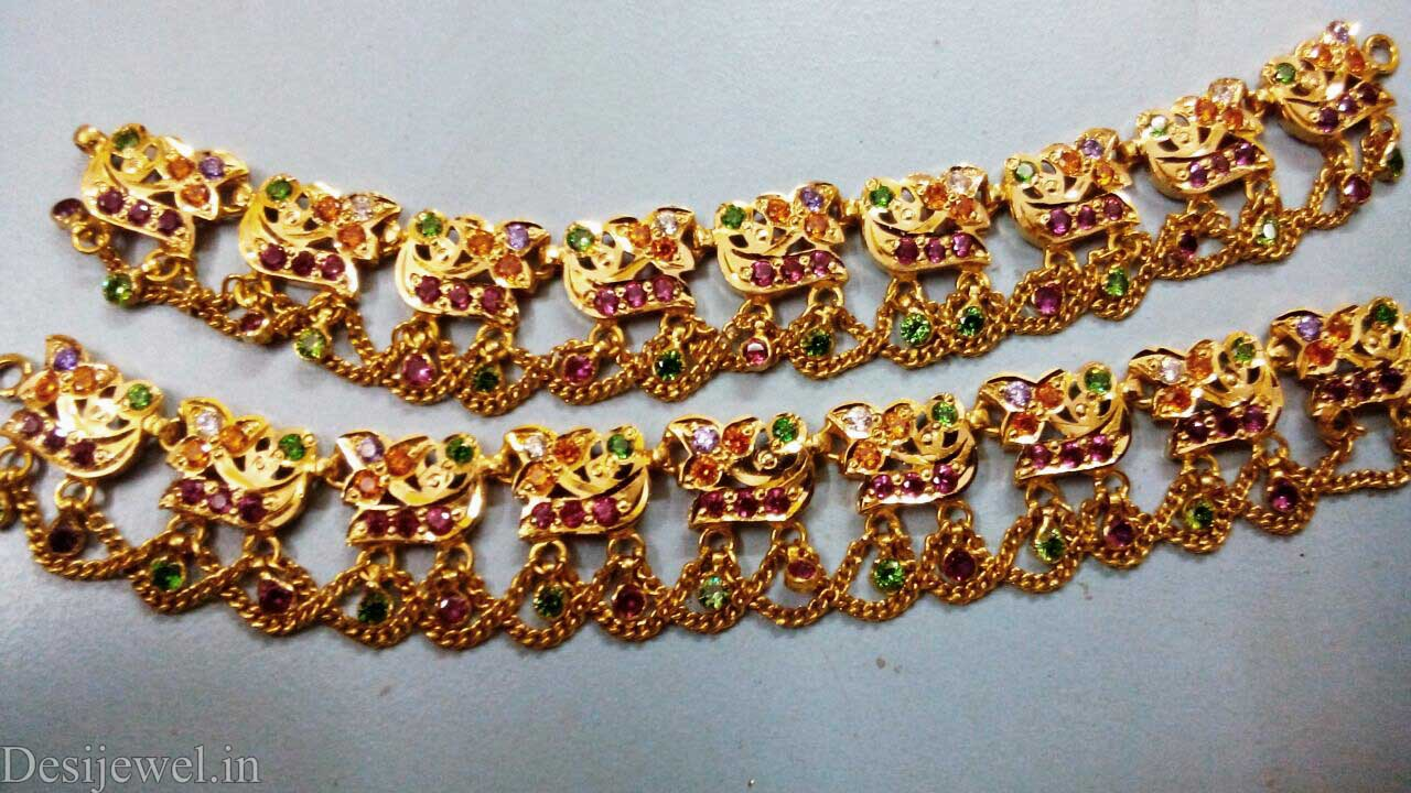 Marwadi Rajasthani Desi gold Rakhdi-Set And Weight is 22-35 gm