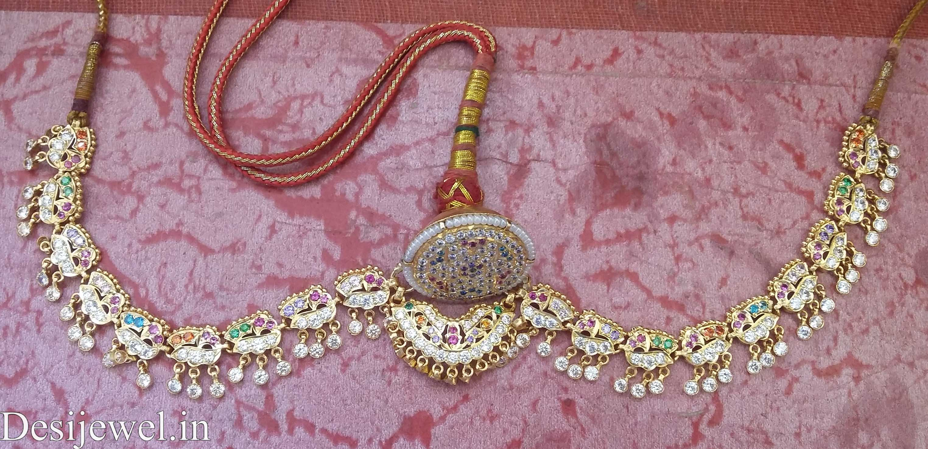 Marwadi Rajasthani Desi gold Rakhdi-Set And Weight is 18-24 gm